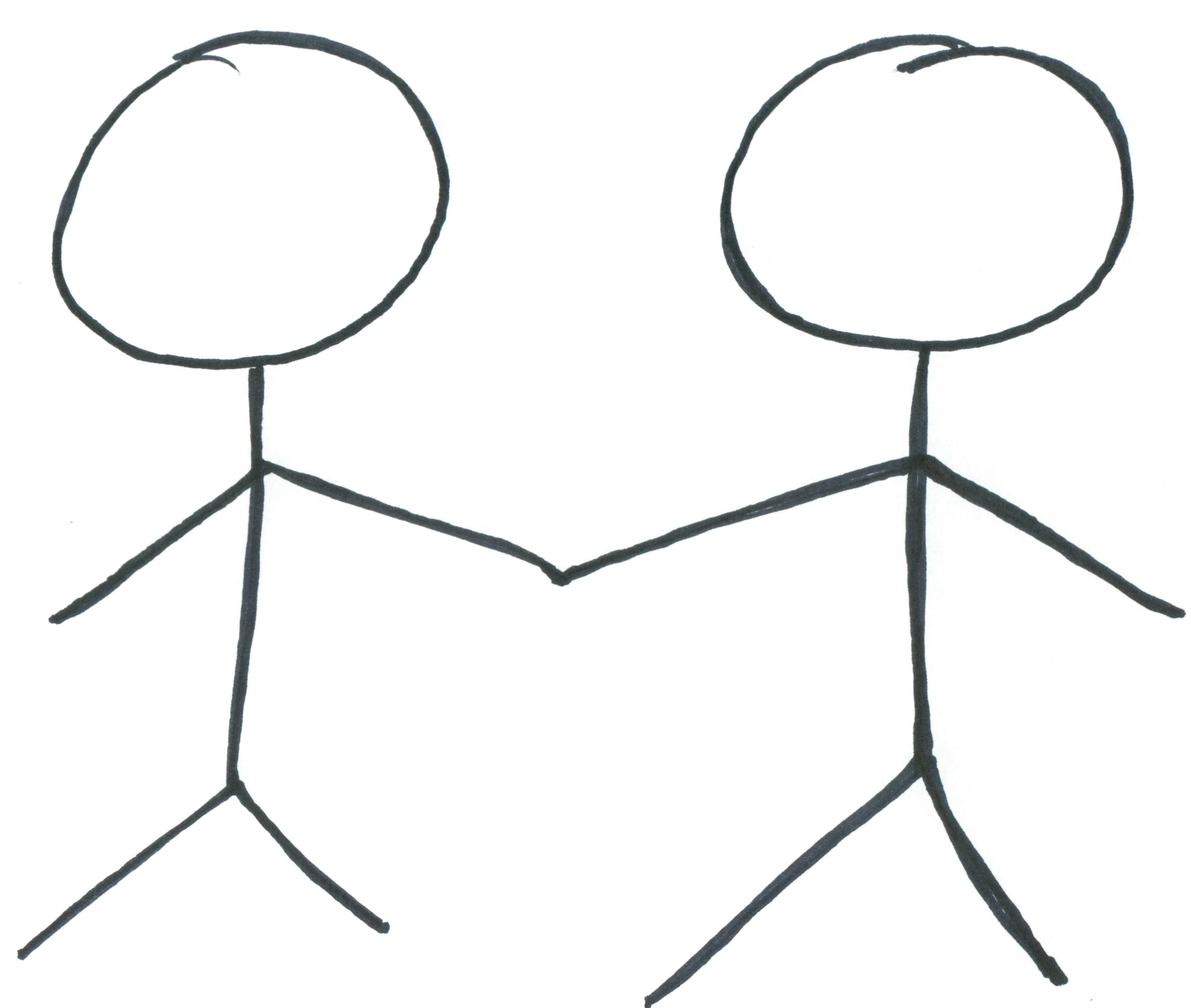 Stick Figures Talking