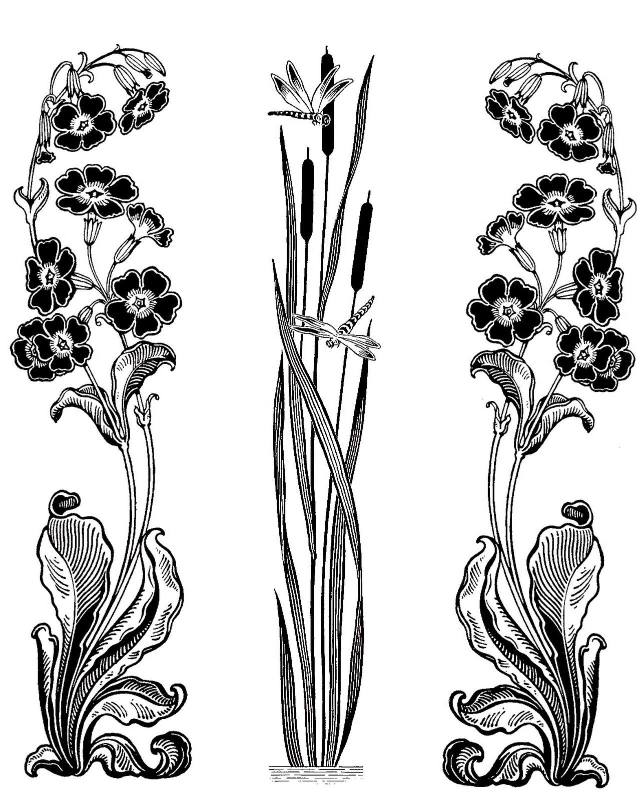 Art Nouveau Clip Art Free