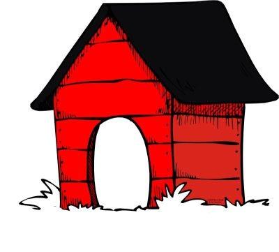 Red Dog House Clipart - HVGJ - ClipArt Best - ClipArt Best (400 x 361 Pixel)