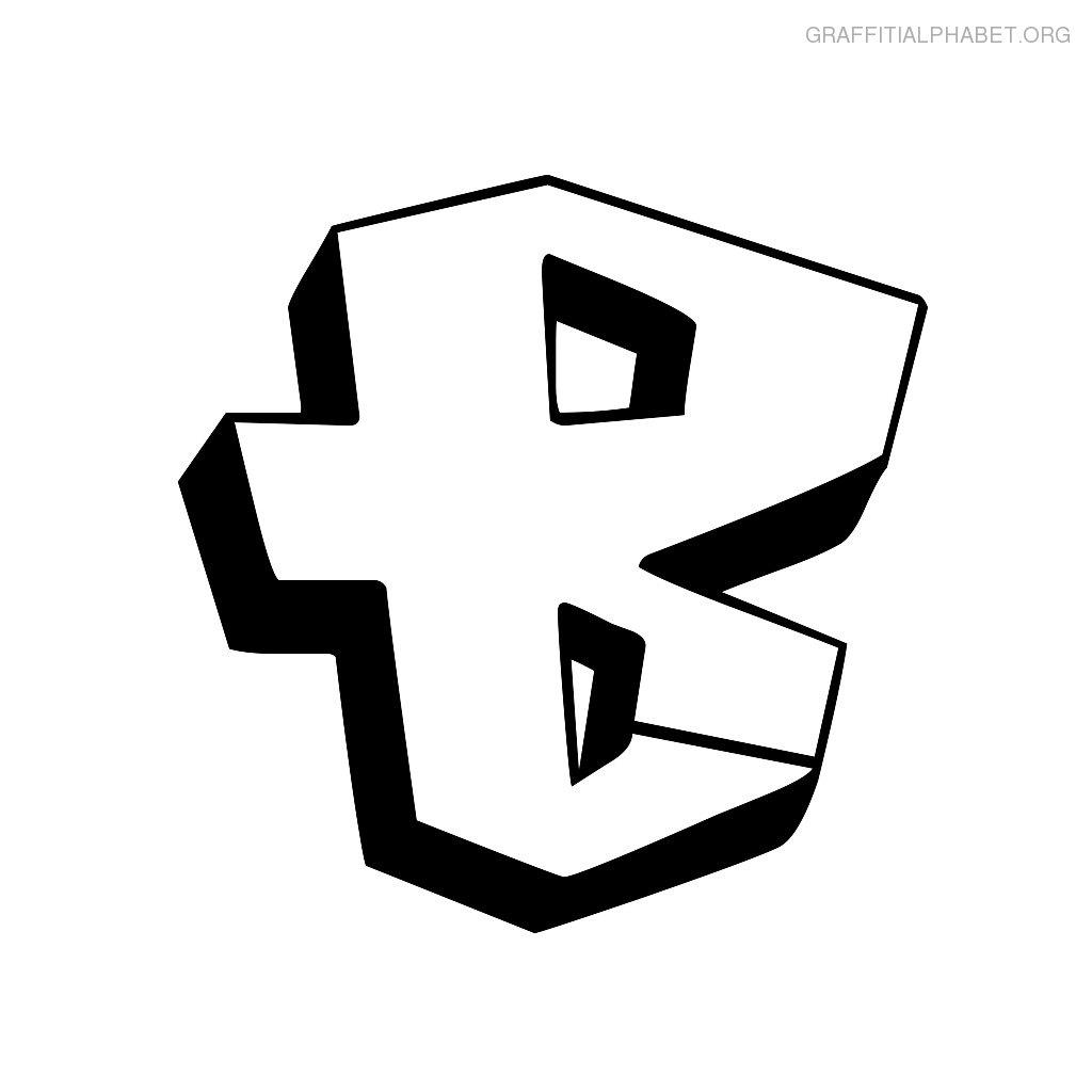 Nice Graffiti Letter B
