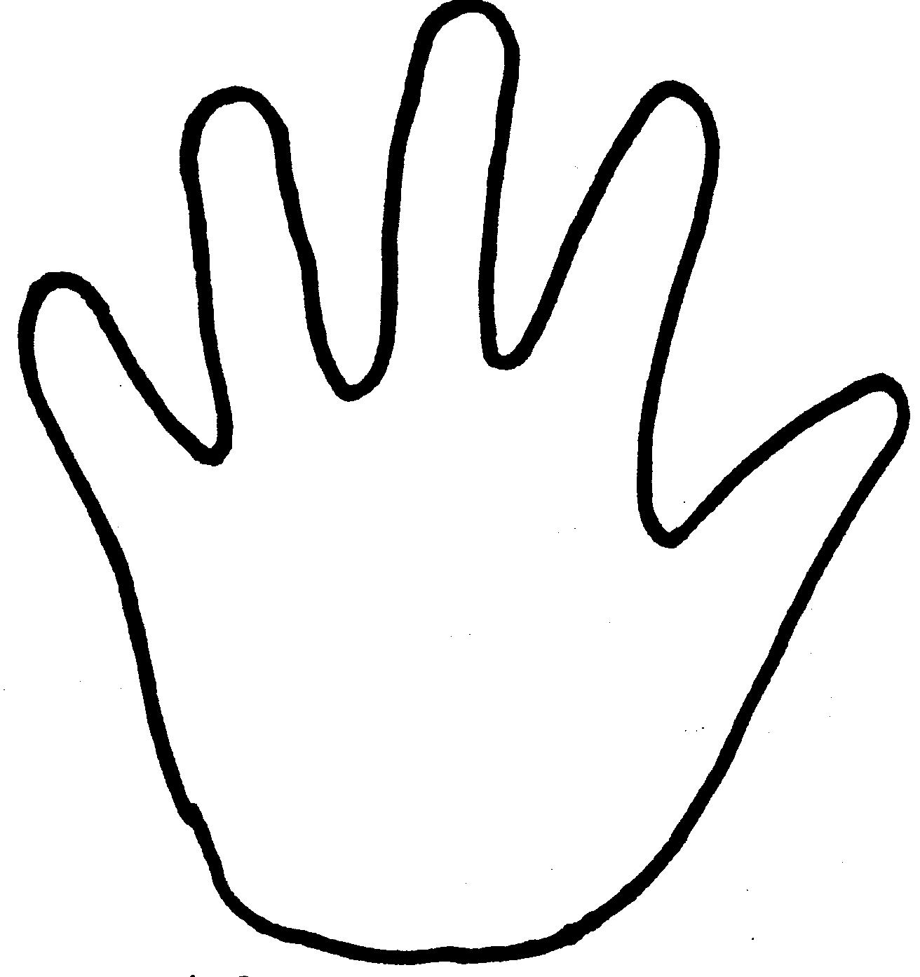 A Large Hand