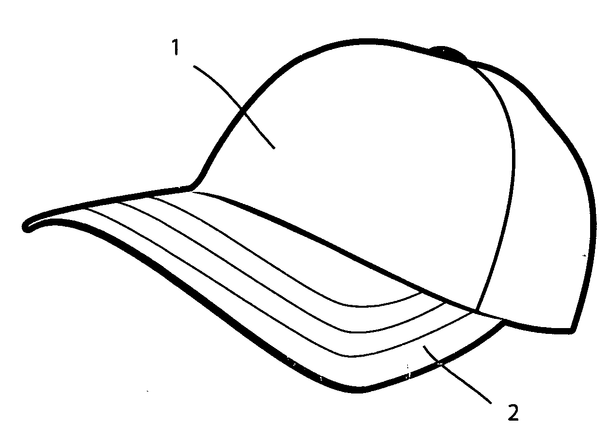 Drawing Of A Hat Cap