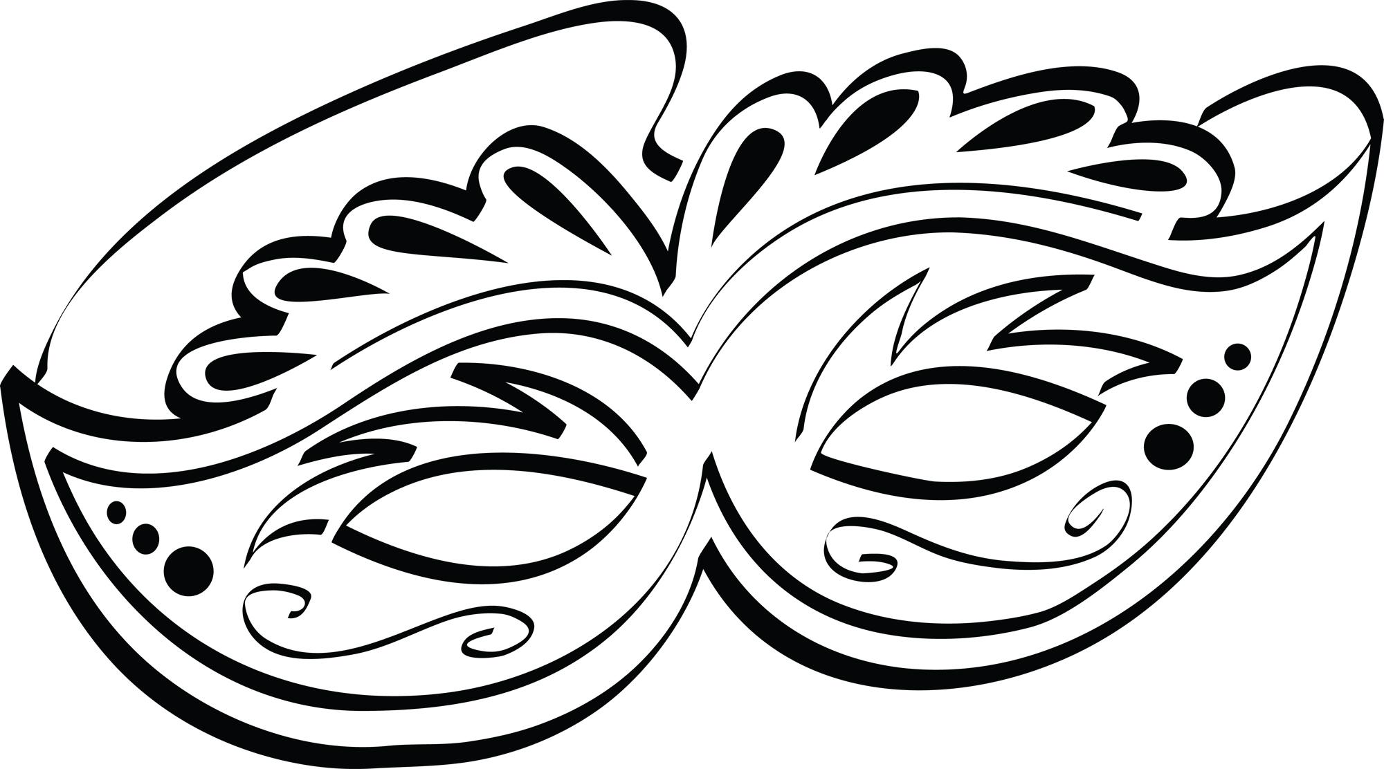 Mardi Gras Mask Clip Art