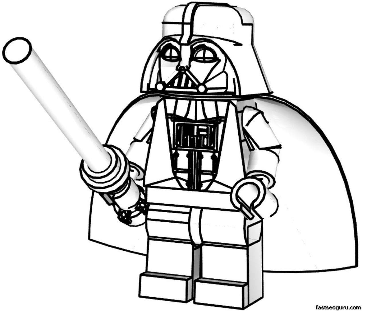 homepage cartoon lego star wars darth vader coloring pages for
