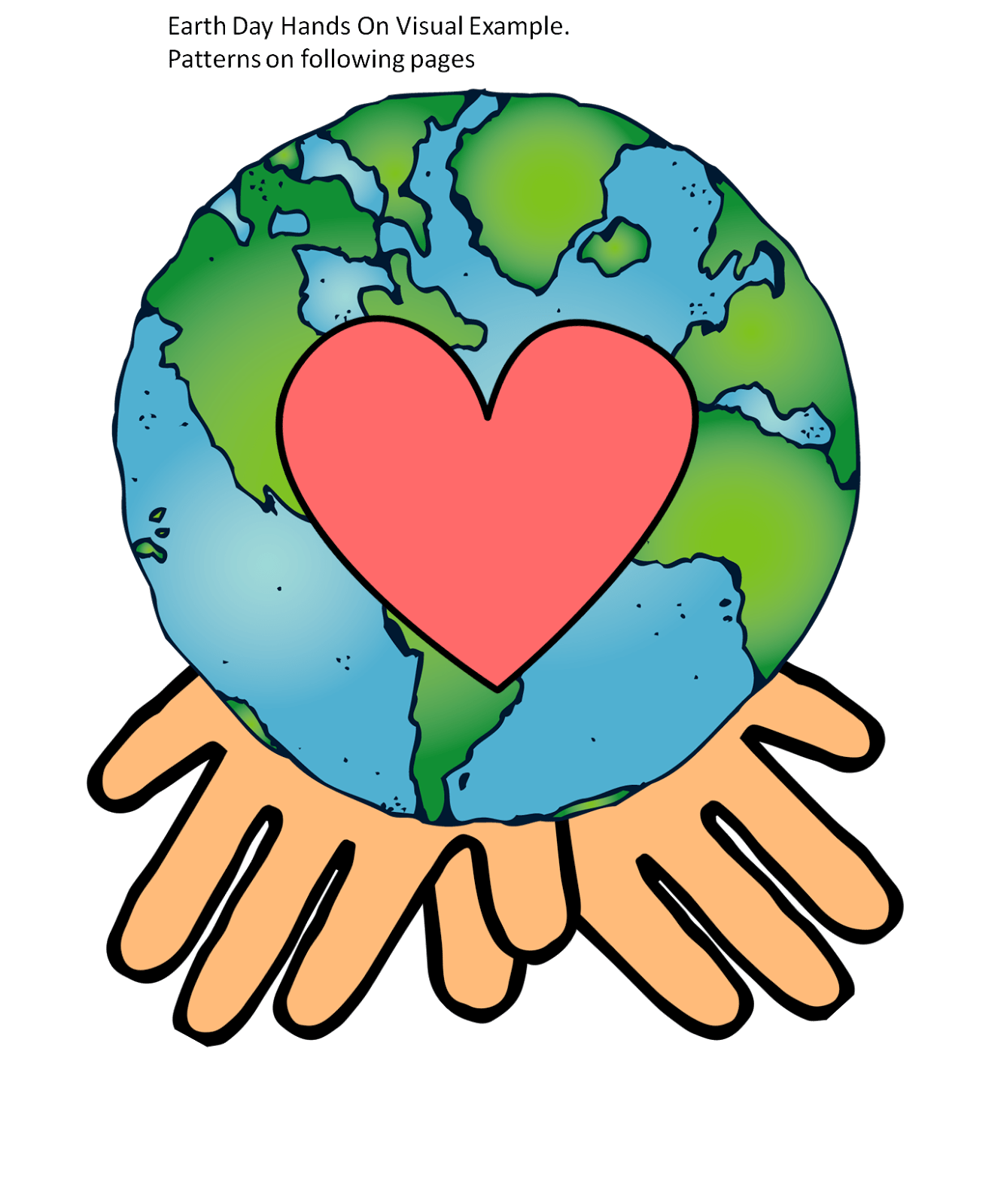 Earth Day Badges Printable