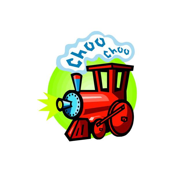 Image result for cartoon pic of slow train