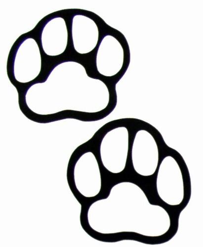 Polar Bear Paw Print - ClipArt Best (411 x 500 Pixel)