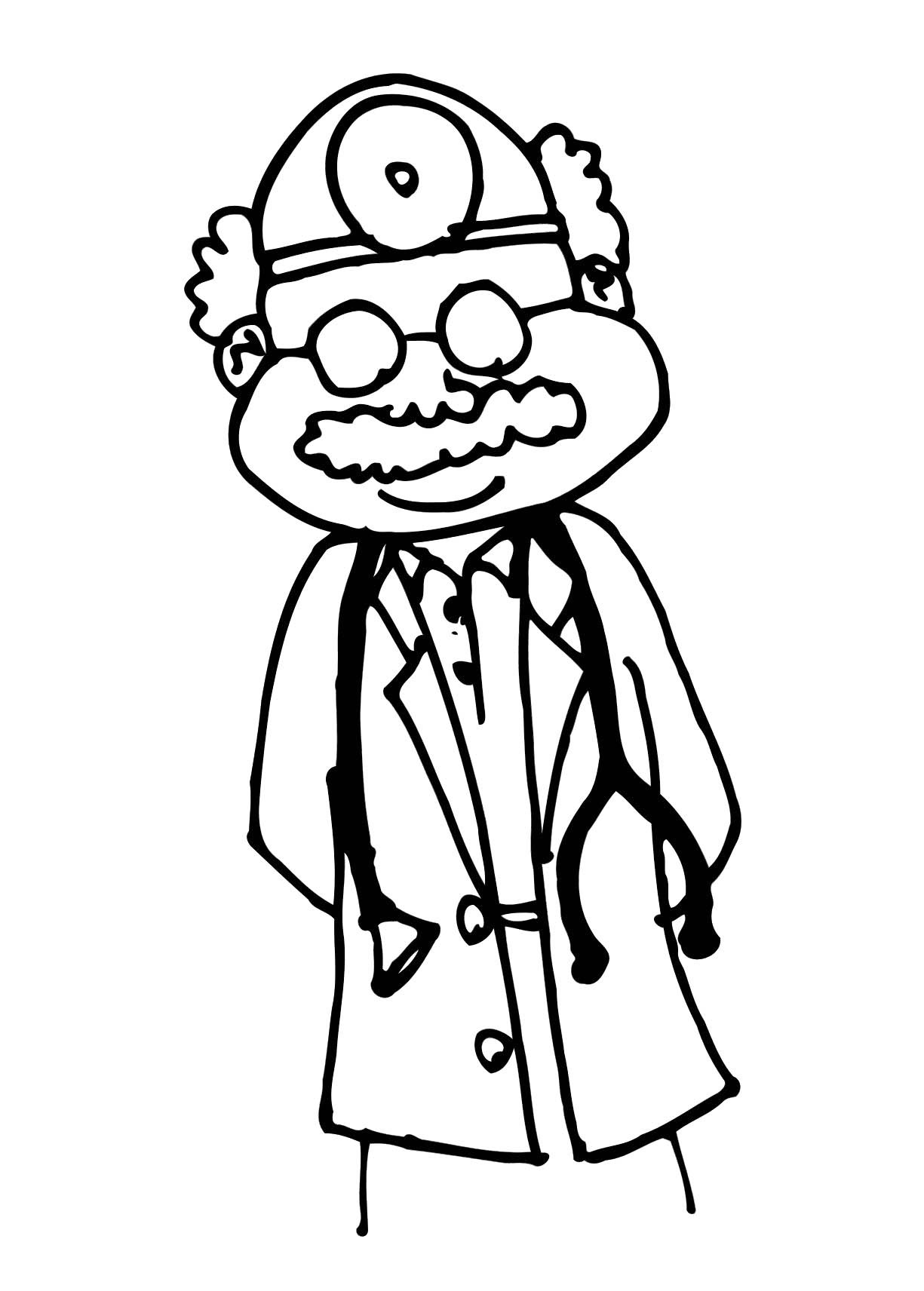 Colouring Pictures Of Doctors