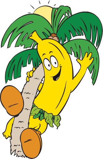 Cartoon Banana Tree - ClipArt Best (334 x 513 Pixel)
