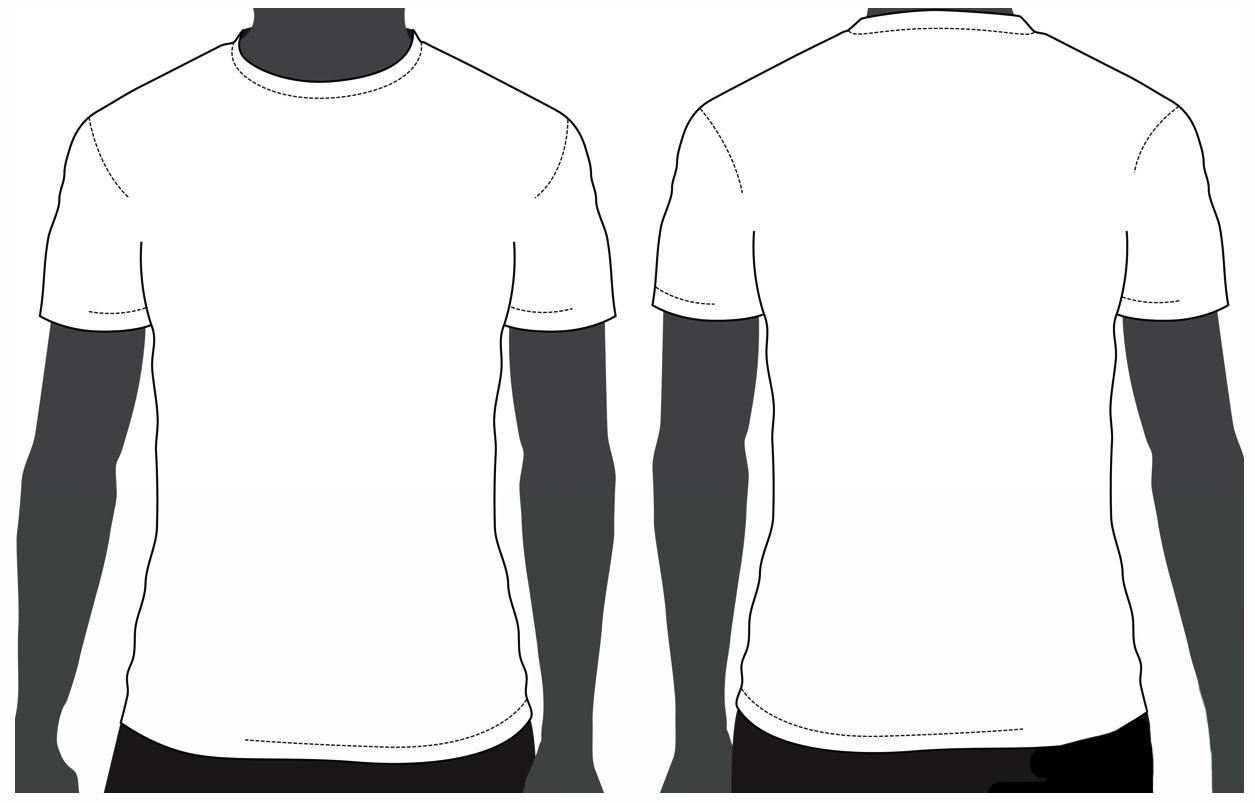 T Shirt Vector Template
