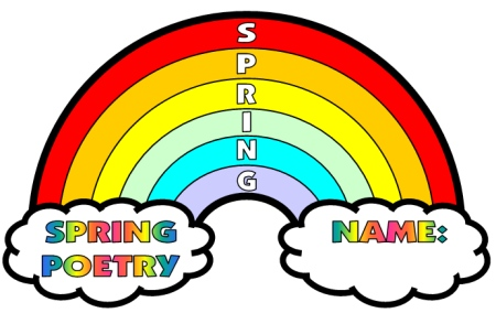 rainbow outline to color clipart best