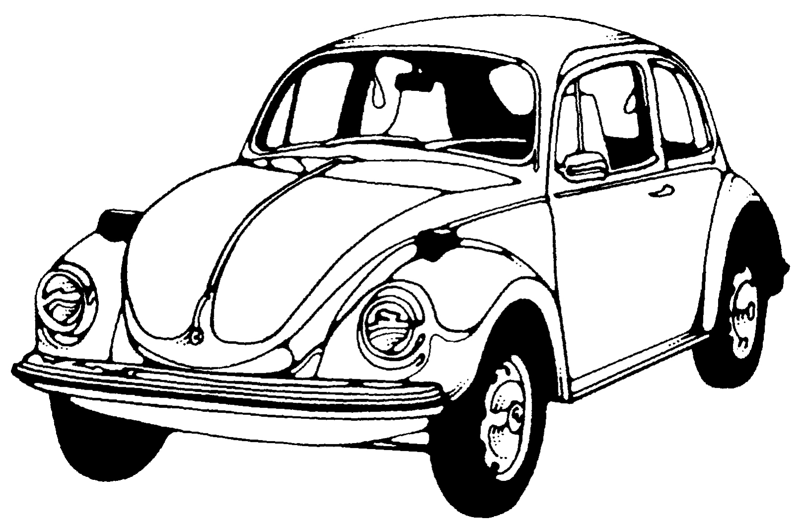 Vw Beetle Art