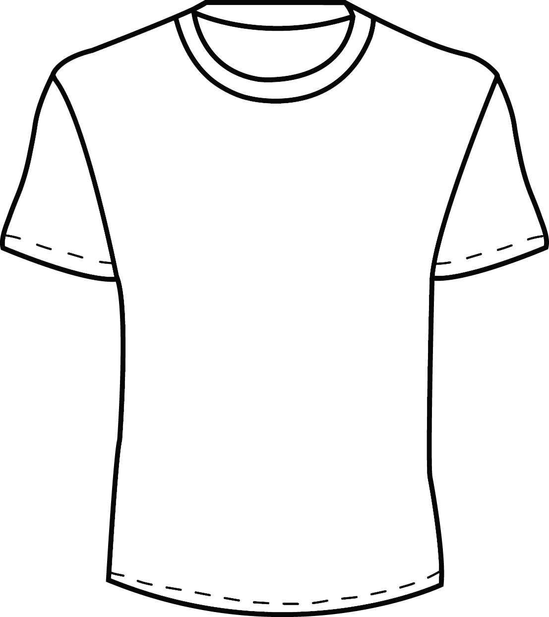 White Polo T Shirt Template