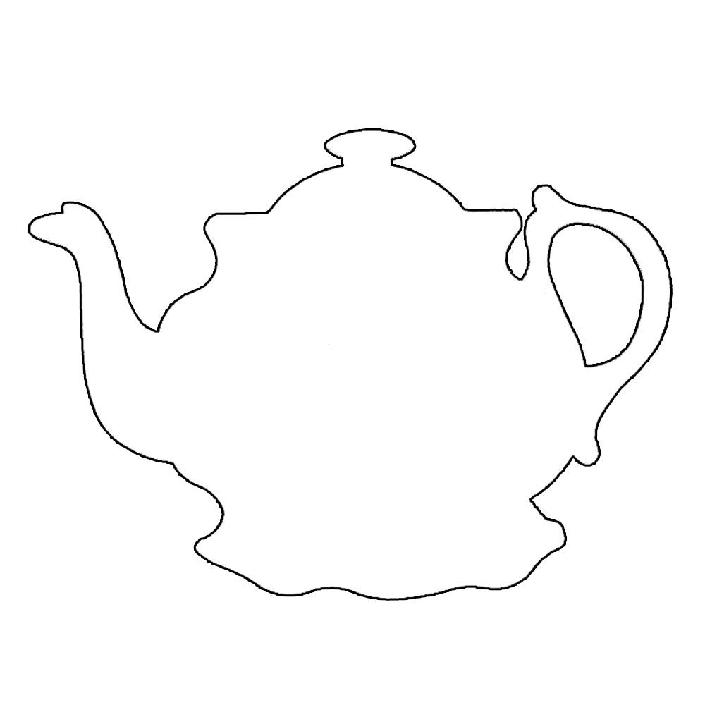 free printable teacup template