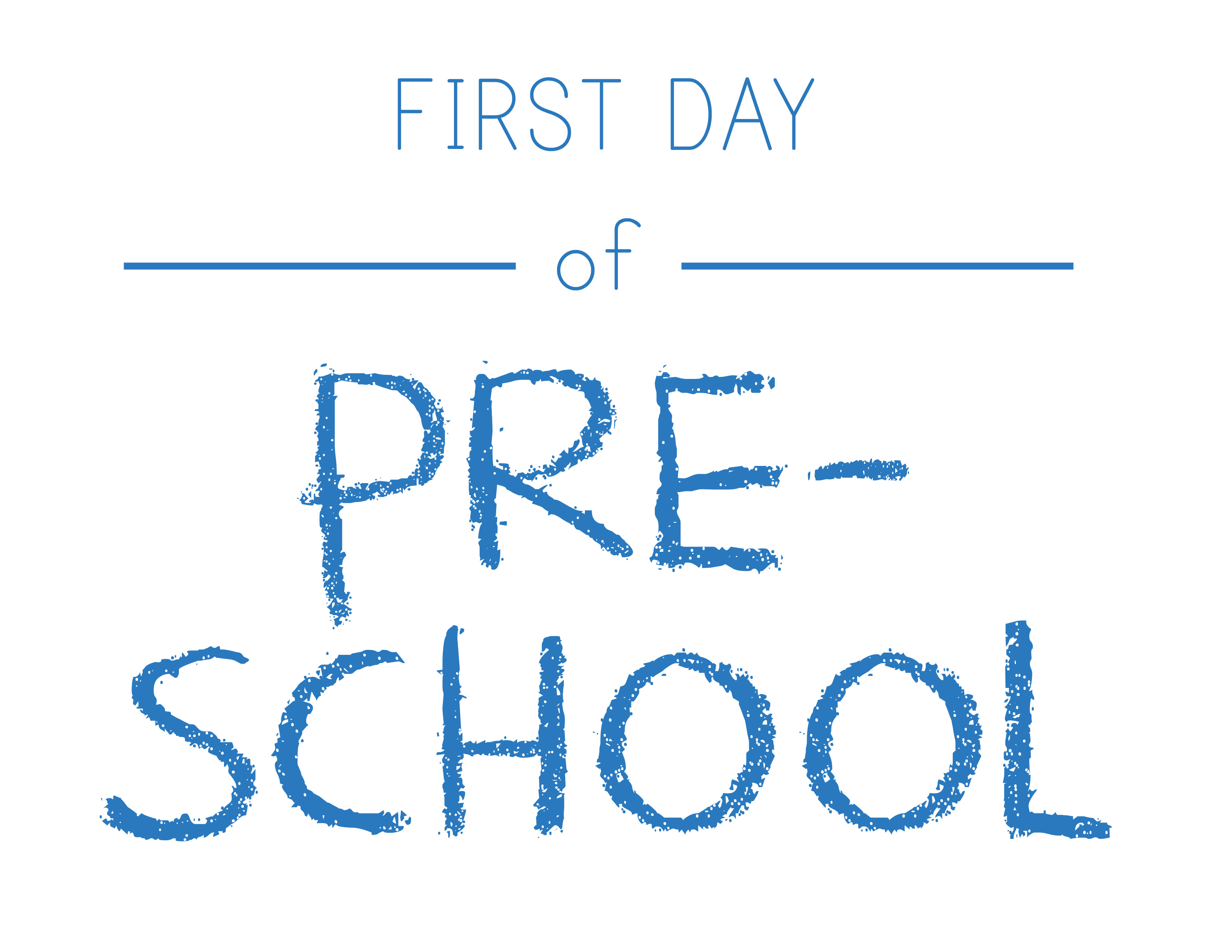 Pre School Pictures