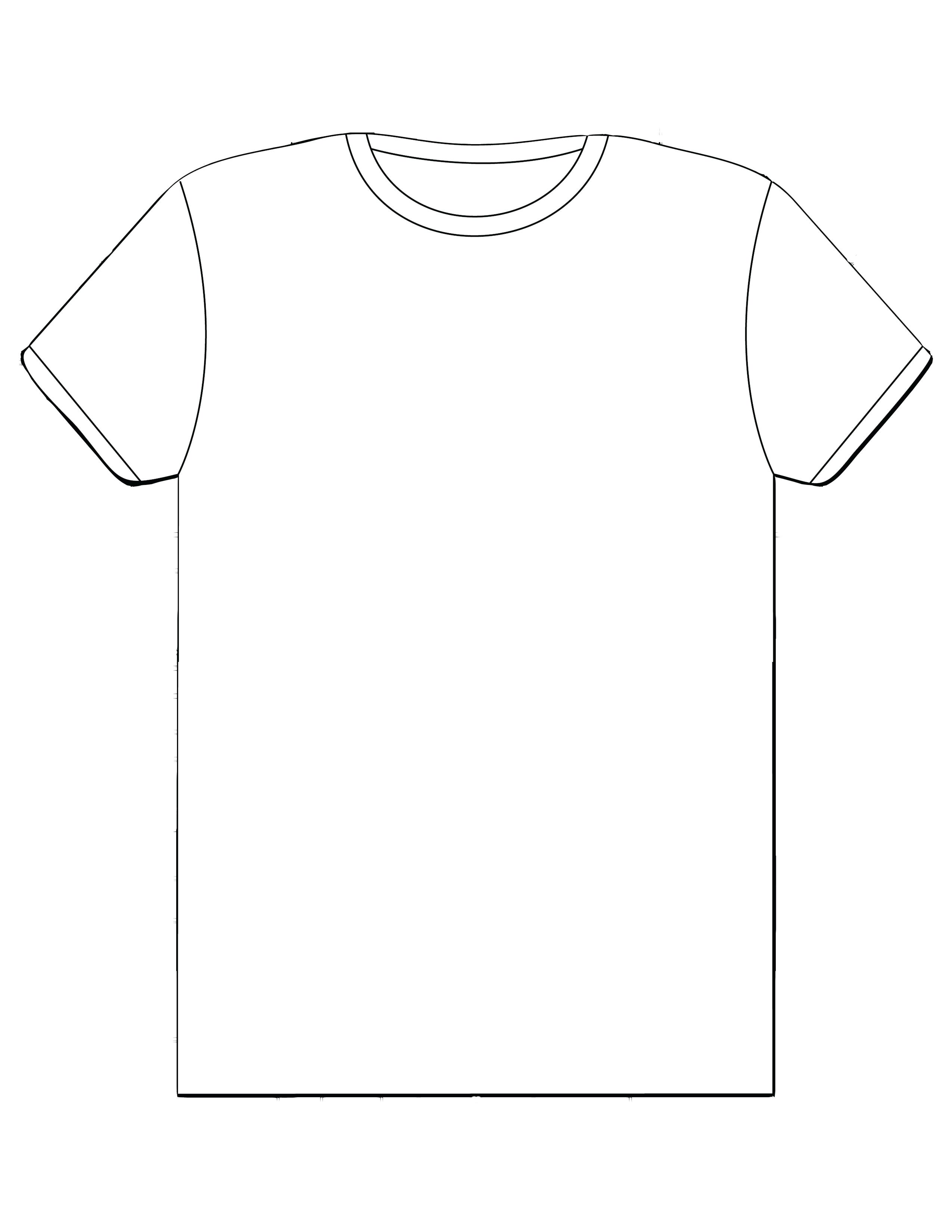 Blank Shirt Design