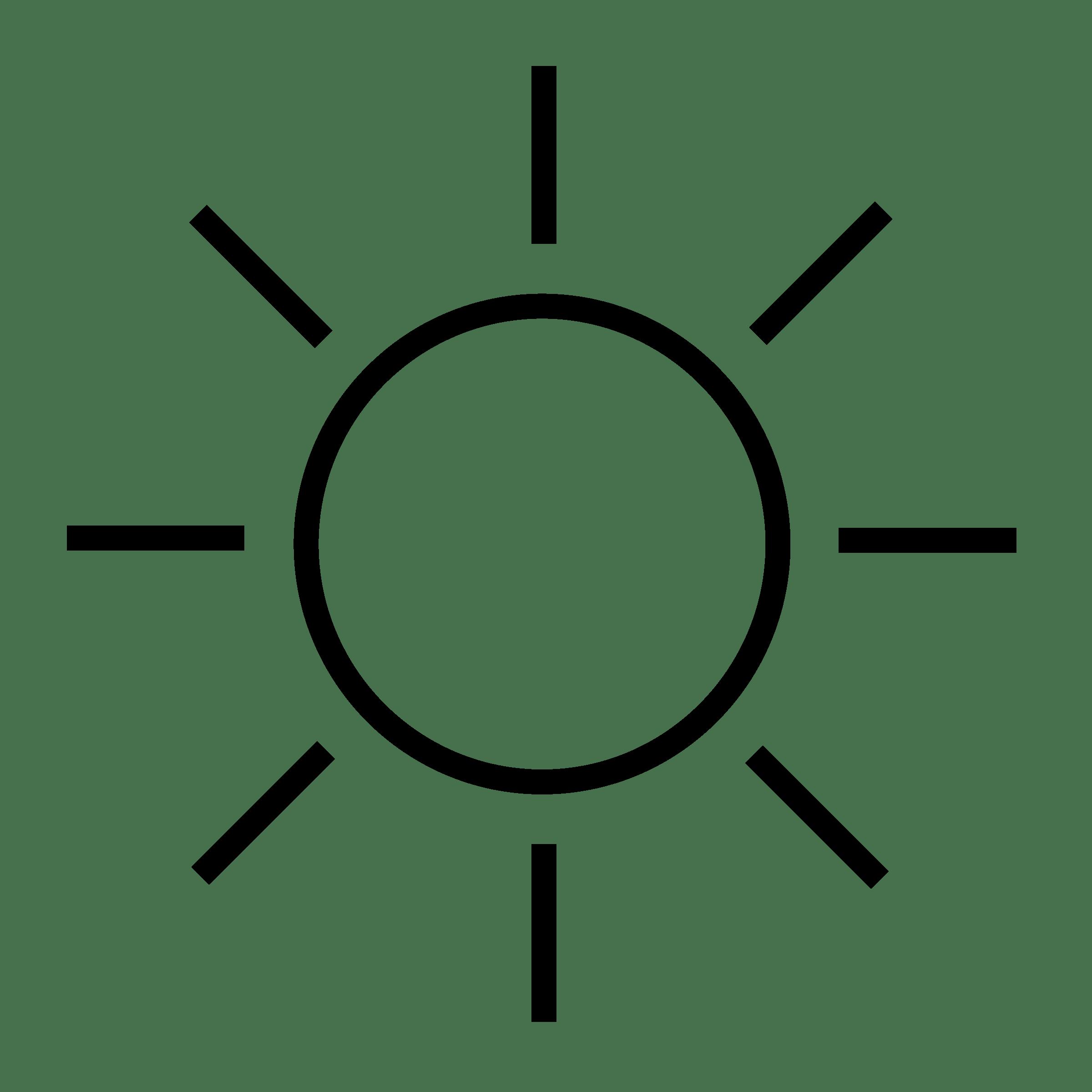 Black And White Sun Clip Art