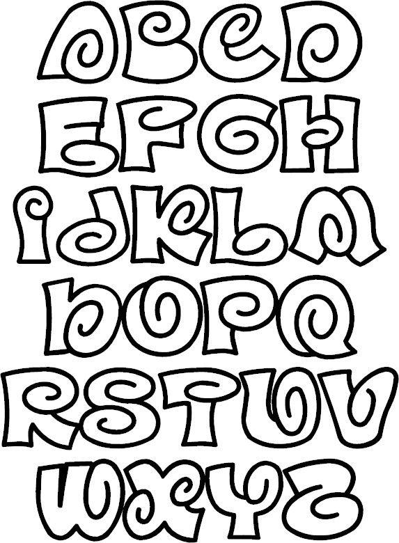 Bubble Letter Font ClipArt Best