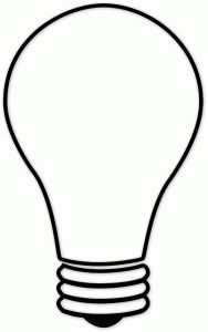 Lightbulb Template