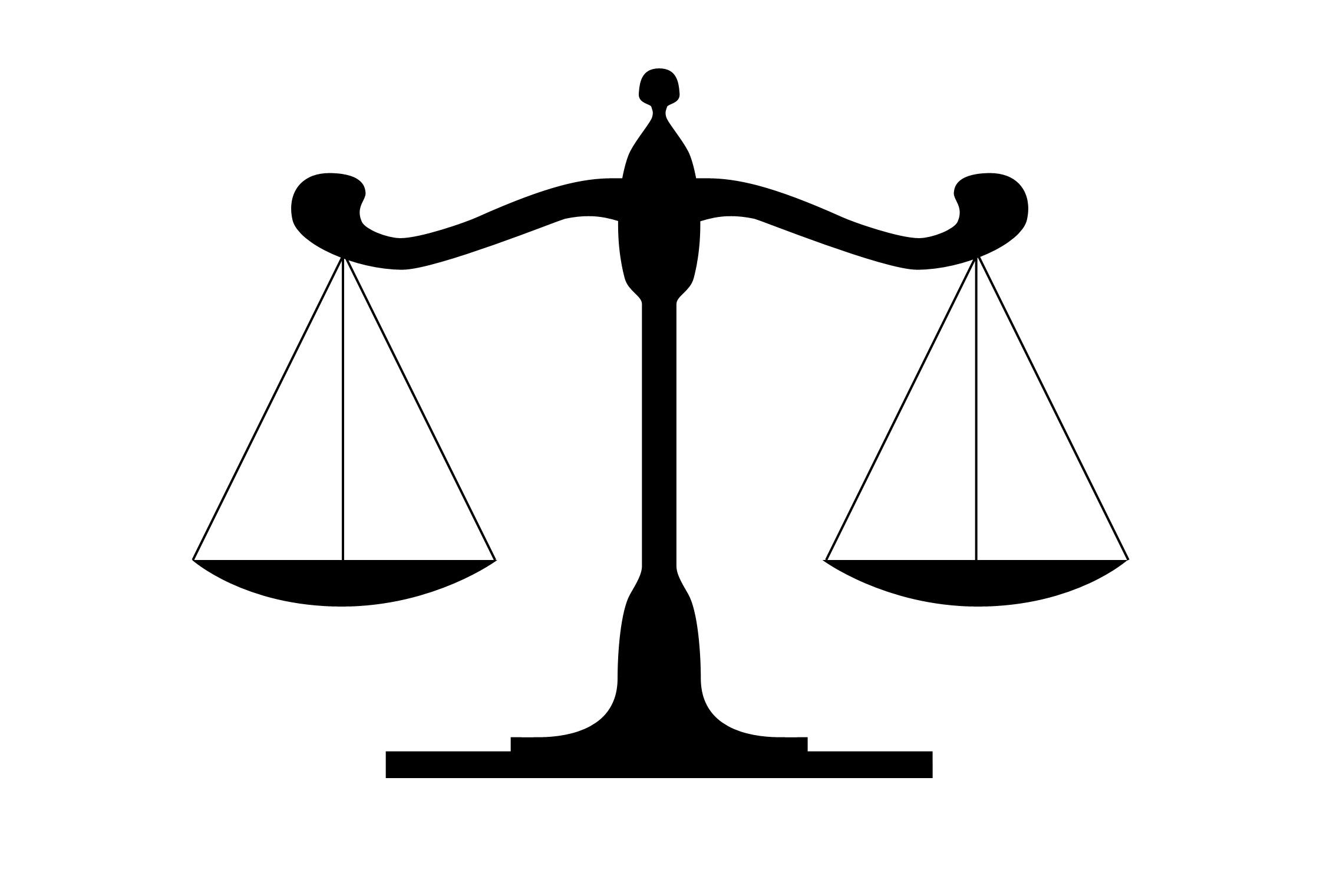 Justice Scale Clip Art