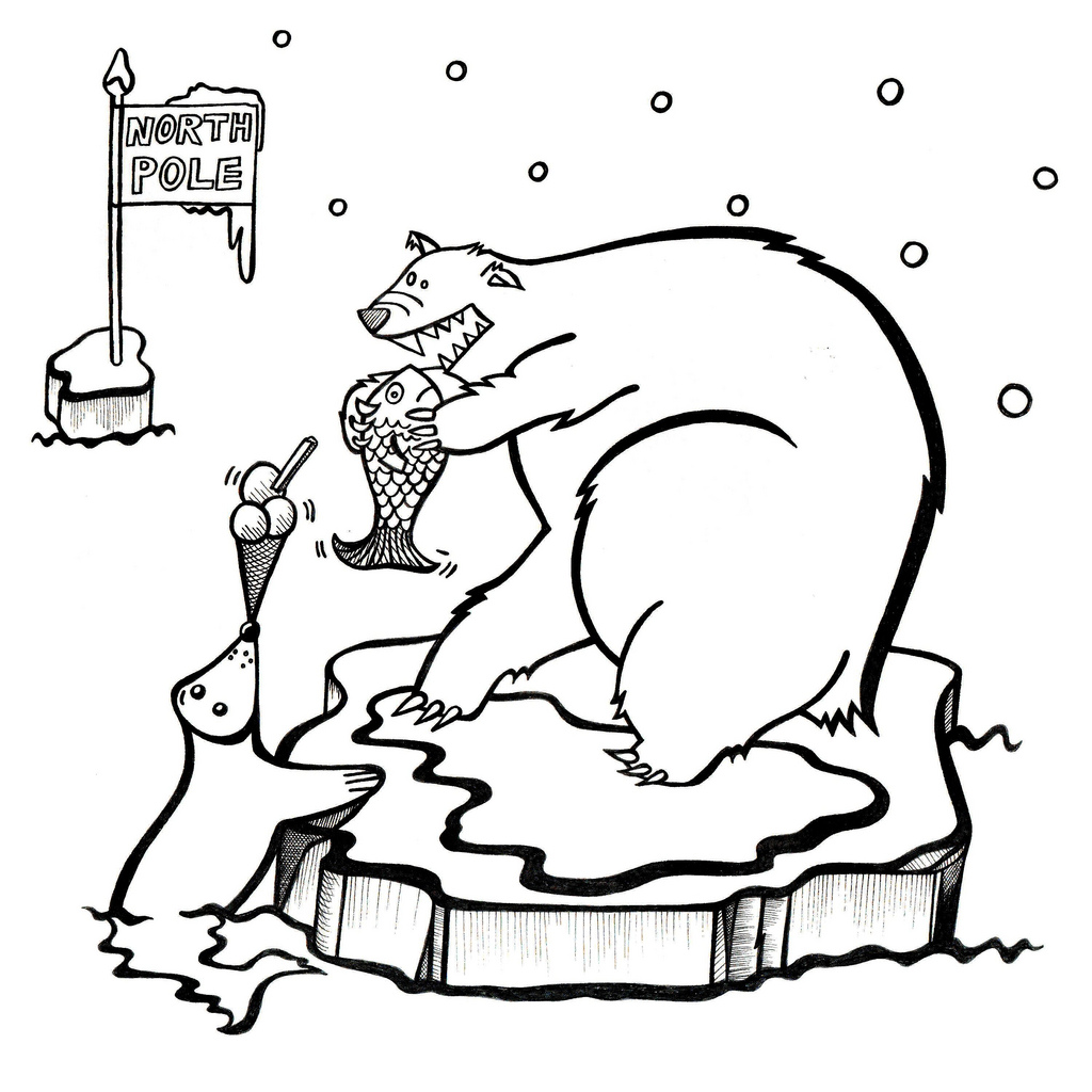 Polar Bear Cartoon Images