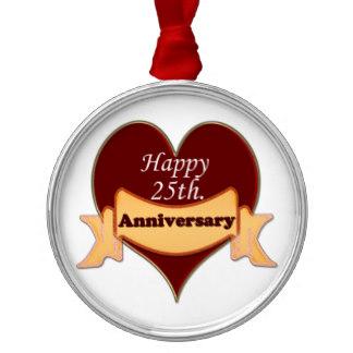 Happy 25Th Wedding Anniversary Clip Art