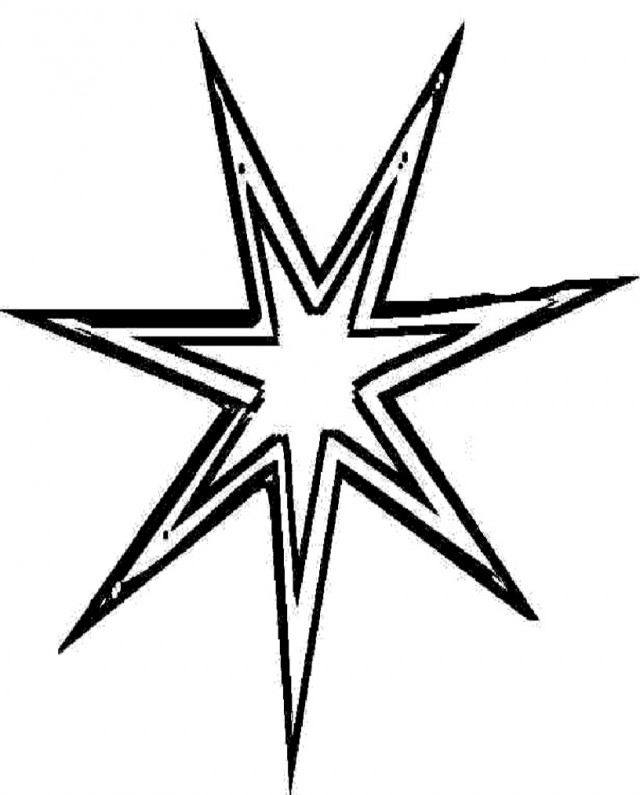 North Star Drawing - ClipArt Best (640 x 795 Pixel)