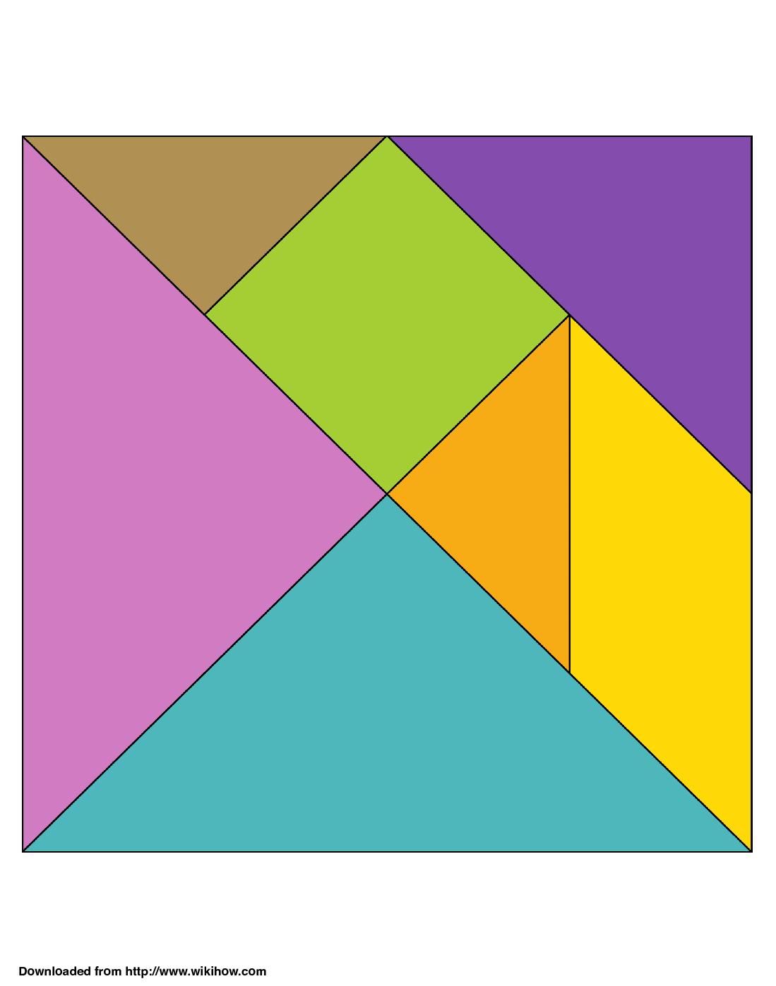 Tangram Printable