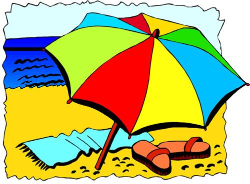 Beach Activities Clipart - ClipArt Best (500 x 369 Pixel)