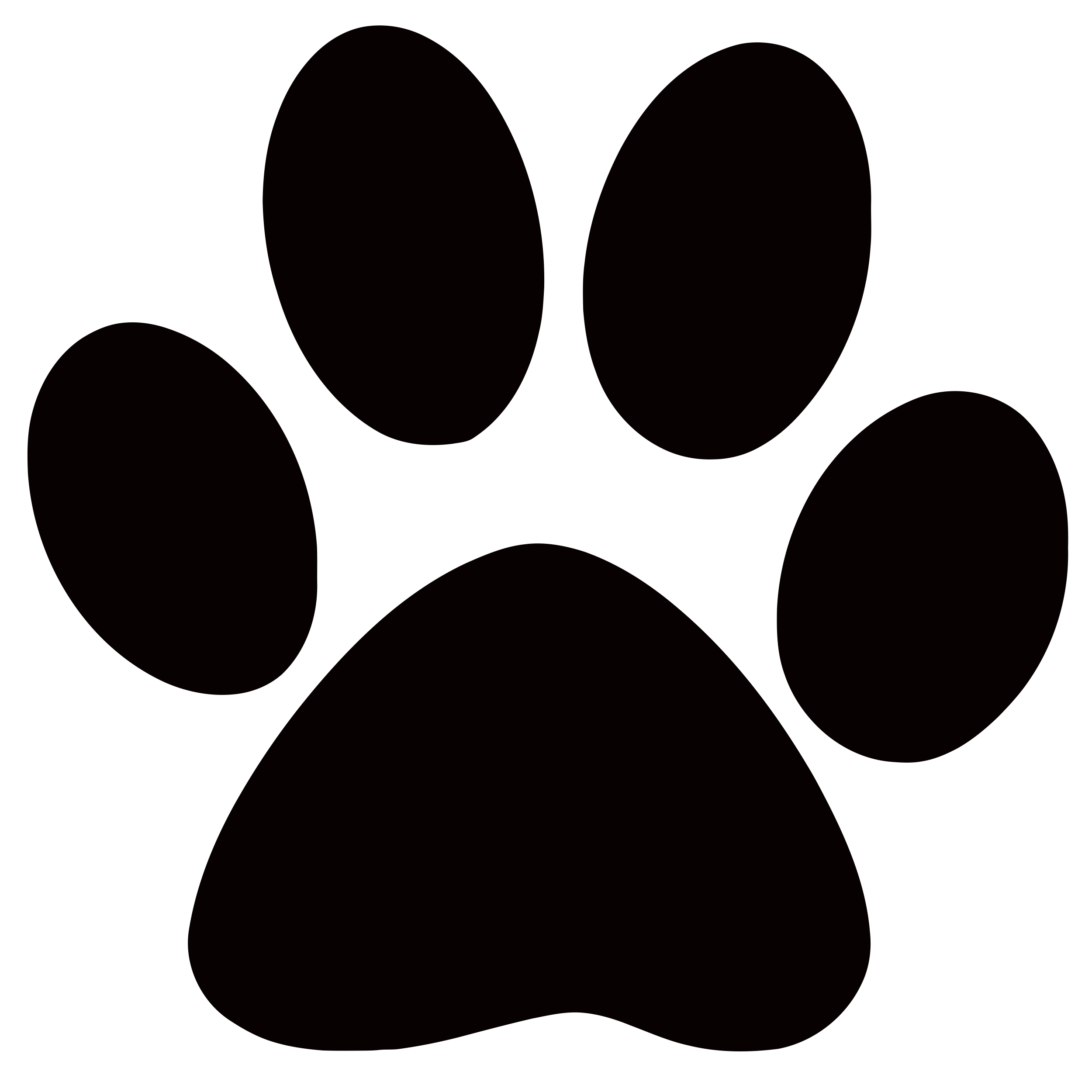Panther Paw Clipart