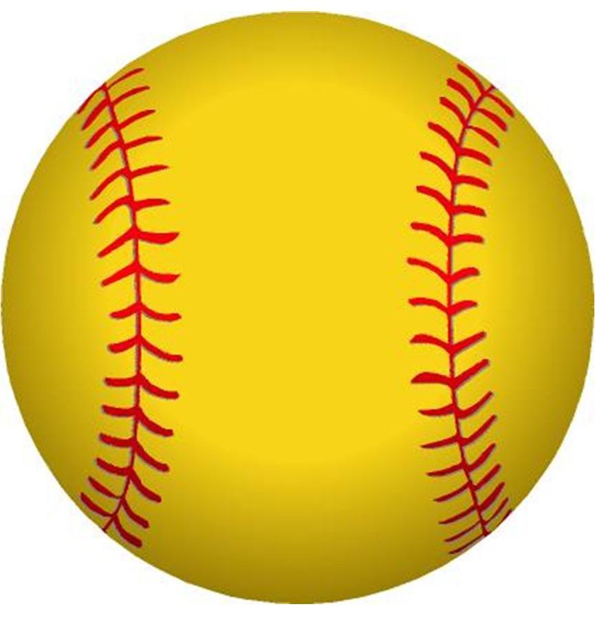 Clip Art Softball - ClipArt Best (865 x 904 Pixel)