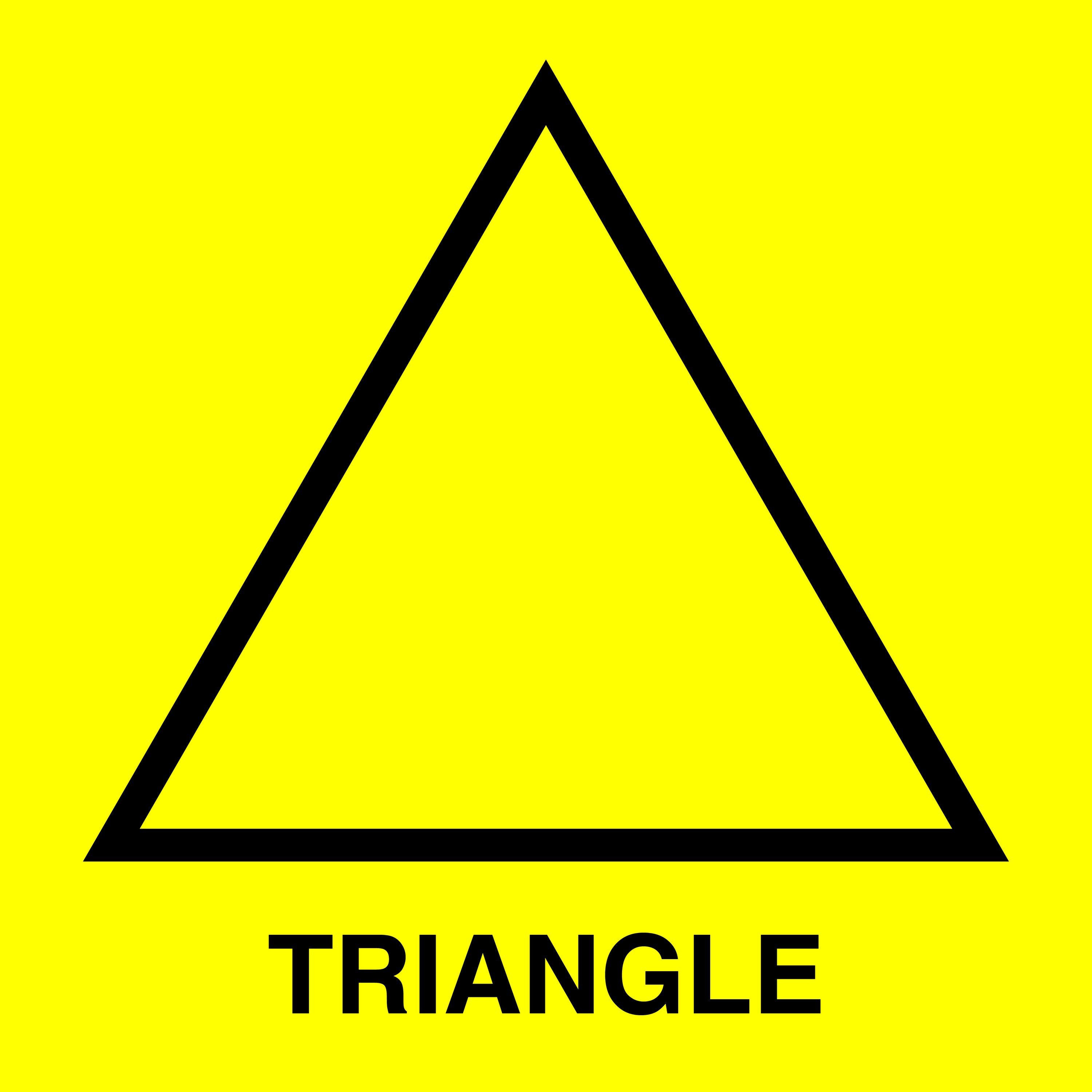 Triangle Shapes For Kids
