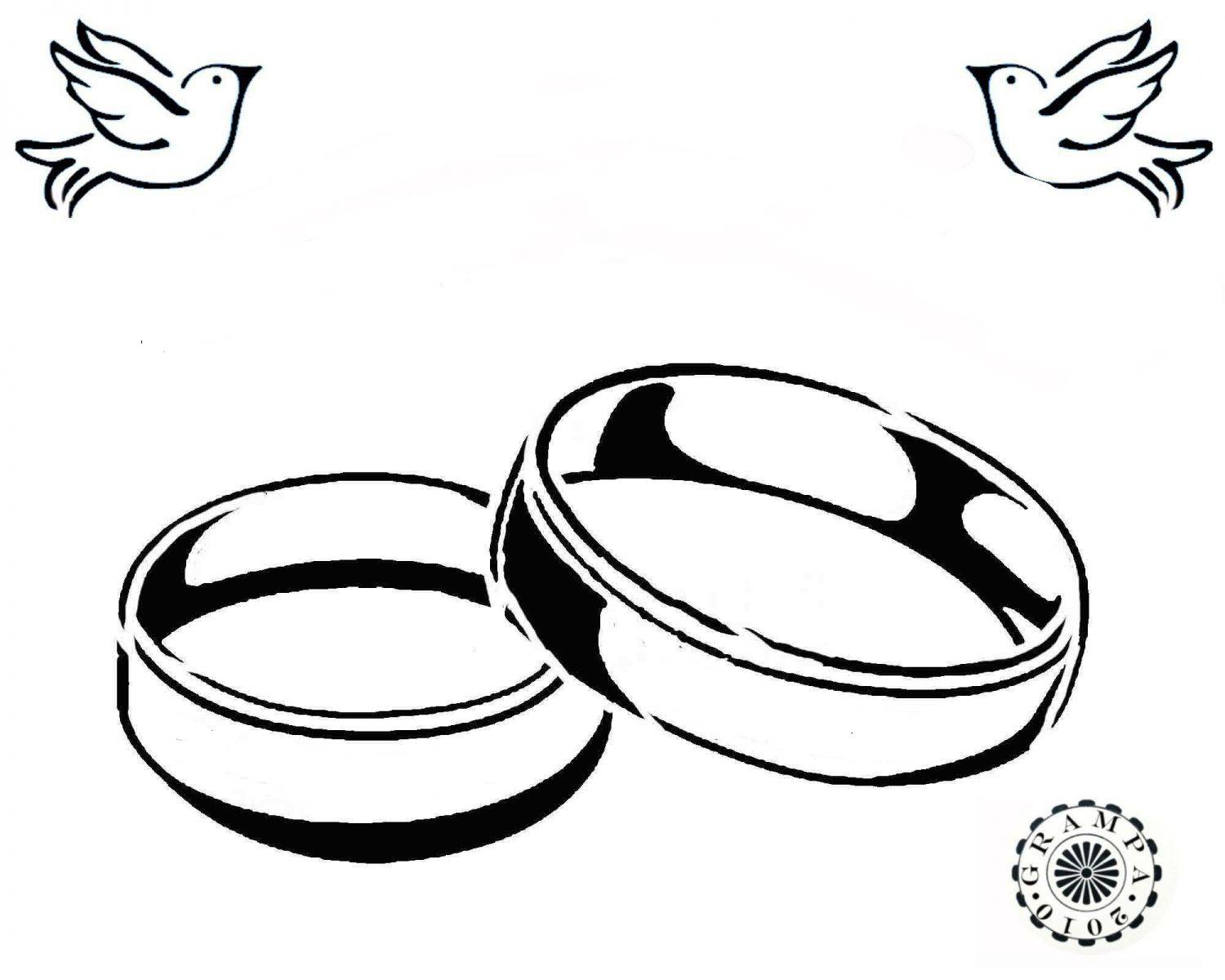 Wedding Ring Drawing