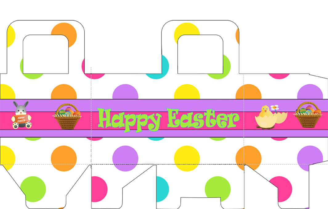 Easter Basket Template Free Clipart Best