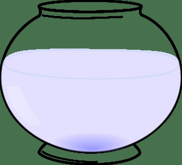 Fish Bowl Outline - ClipArt Best (600 x 544 Pixel)