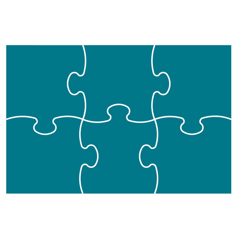 Puzzle Outline 9 Pieces