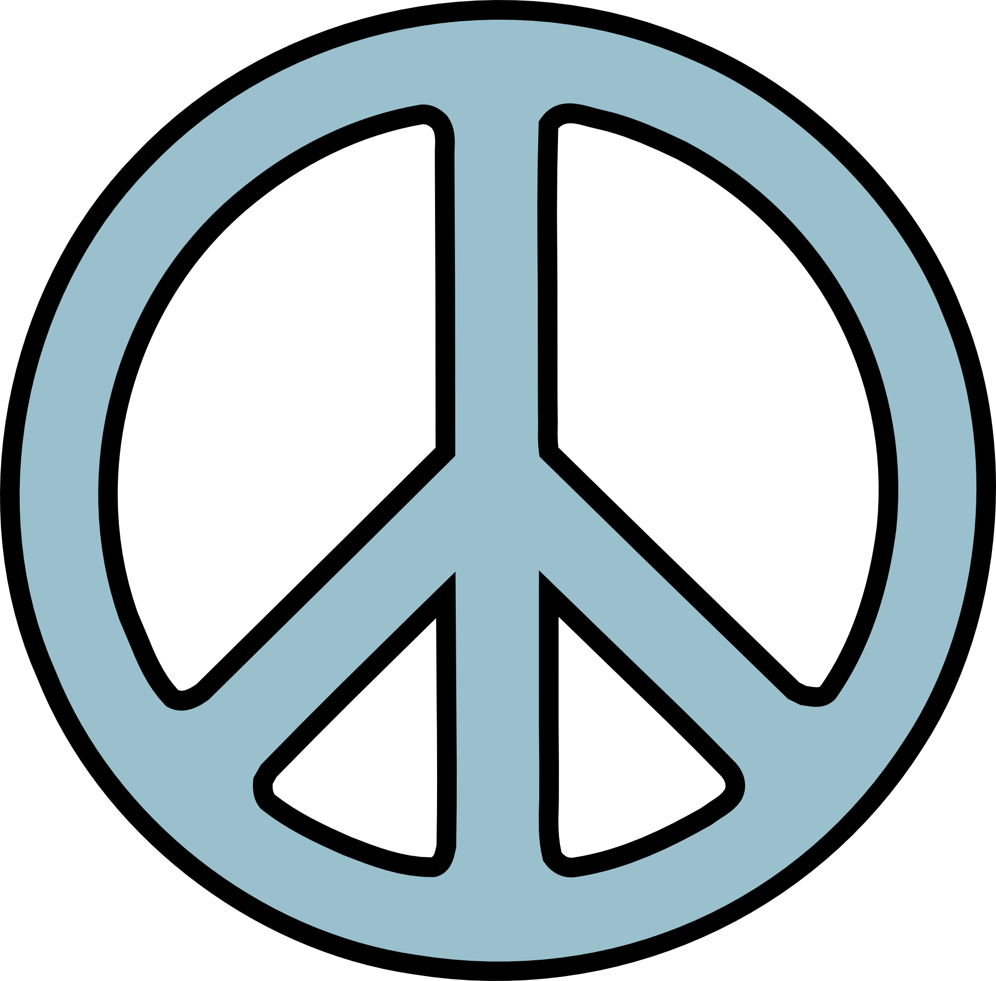 Clipart Peace Sign Hand
