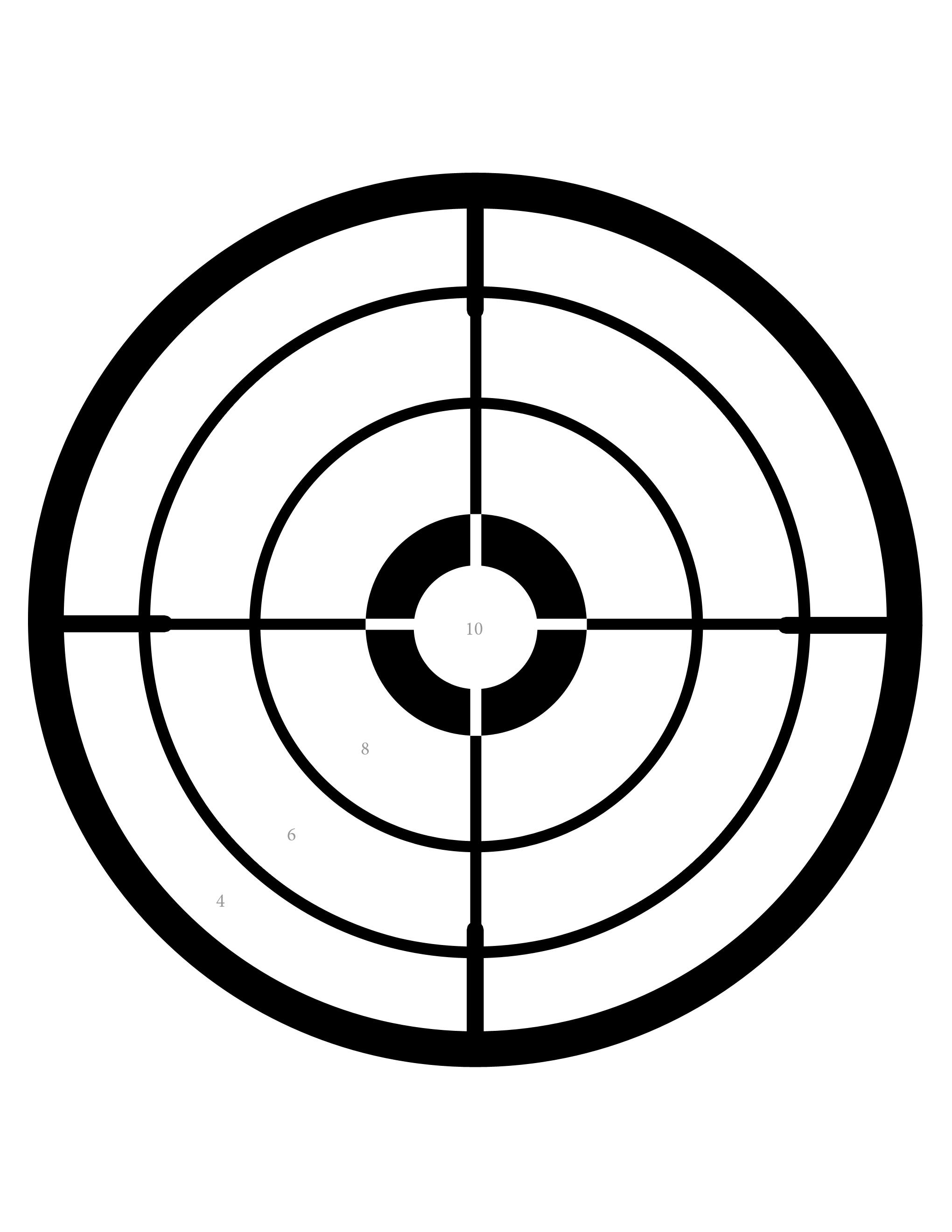 Fun Free Printable Targets