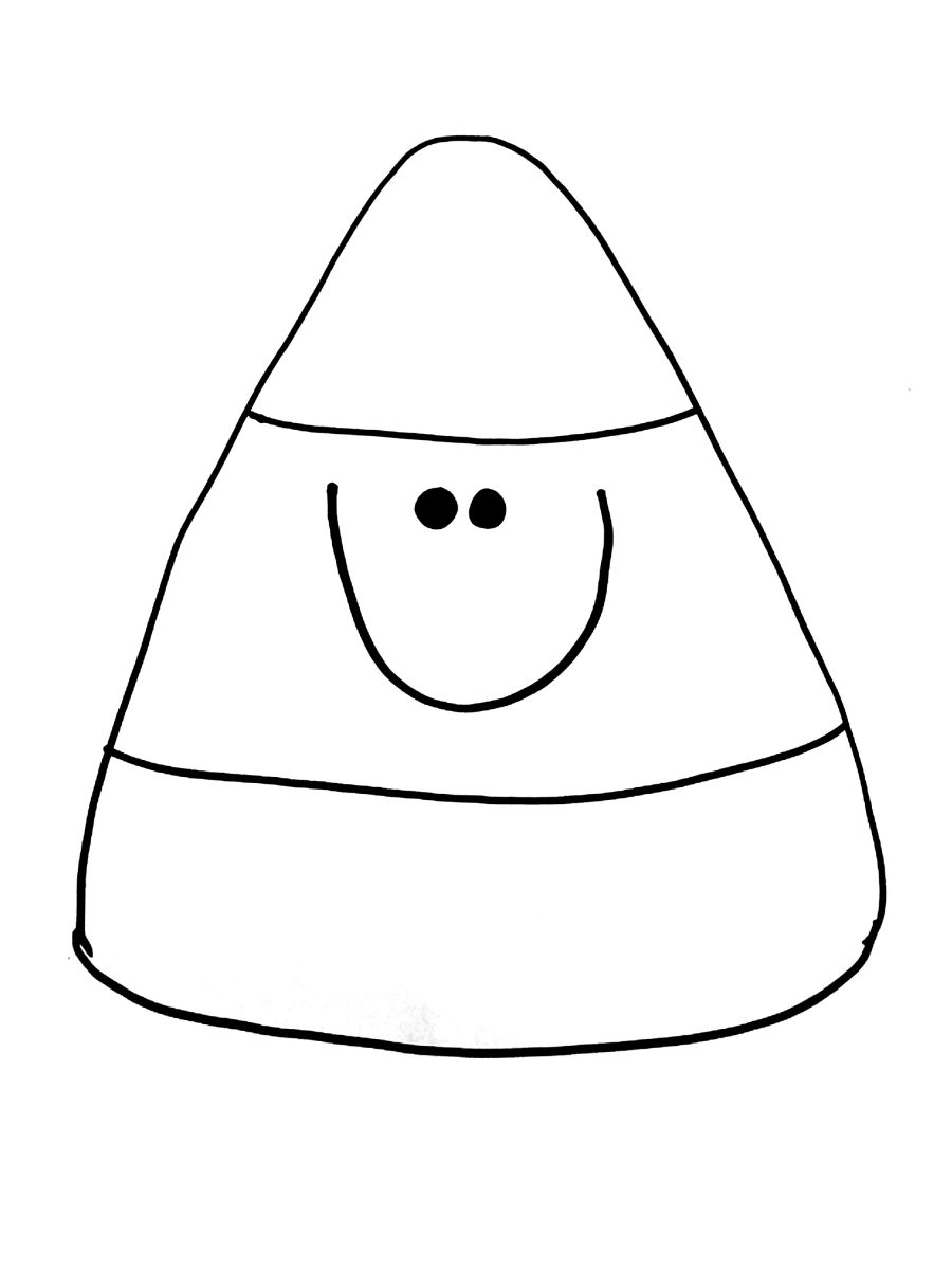 candy corn coloring page aaldtk
