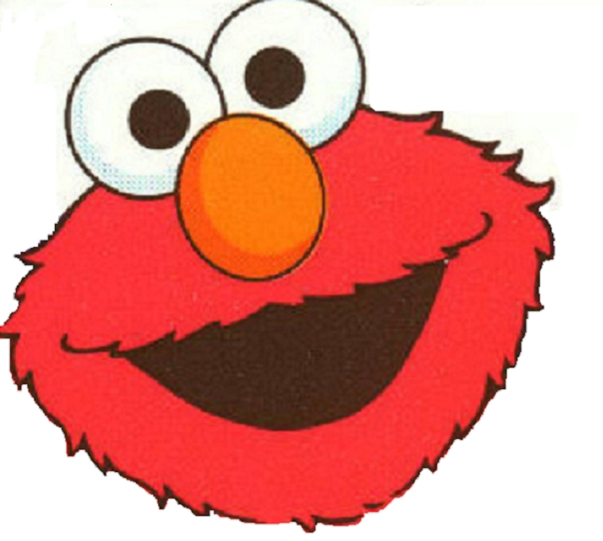 Elmo Template Vinyls Bags And Balloon Template On Pinterest