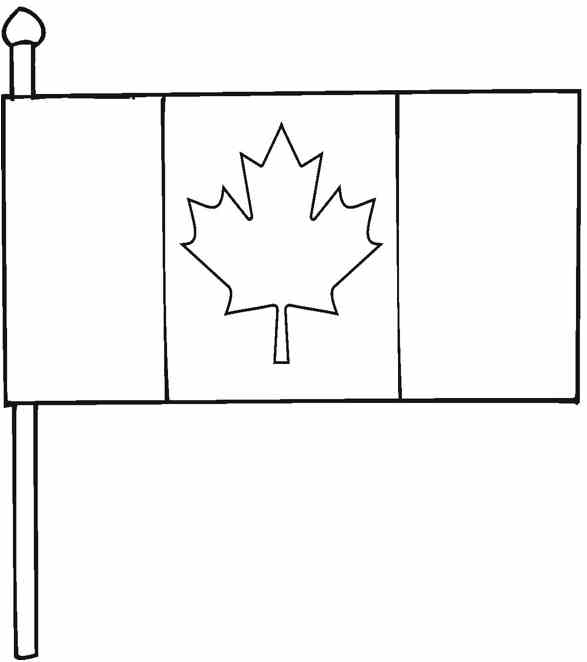 canadian flag printable coloring pages coloring book