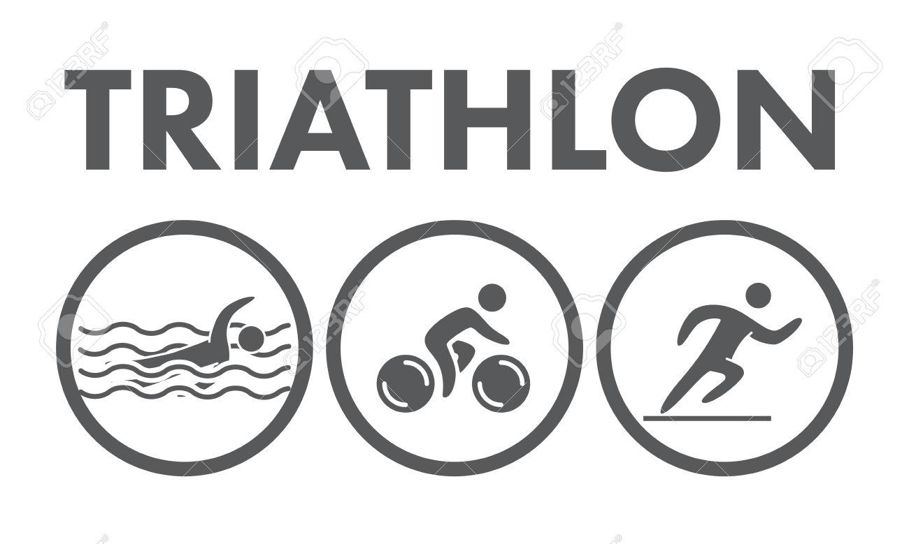 Triathlon Clip Art