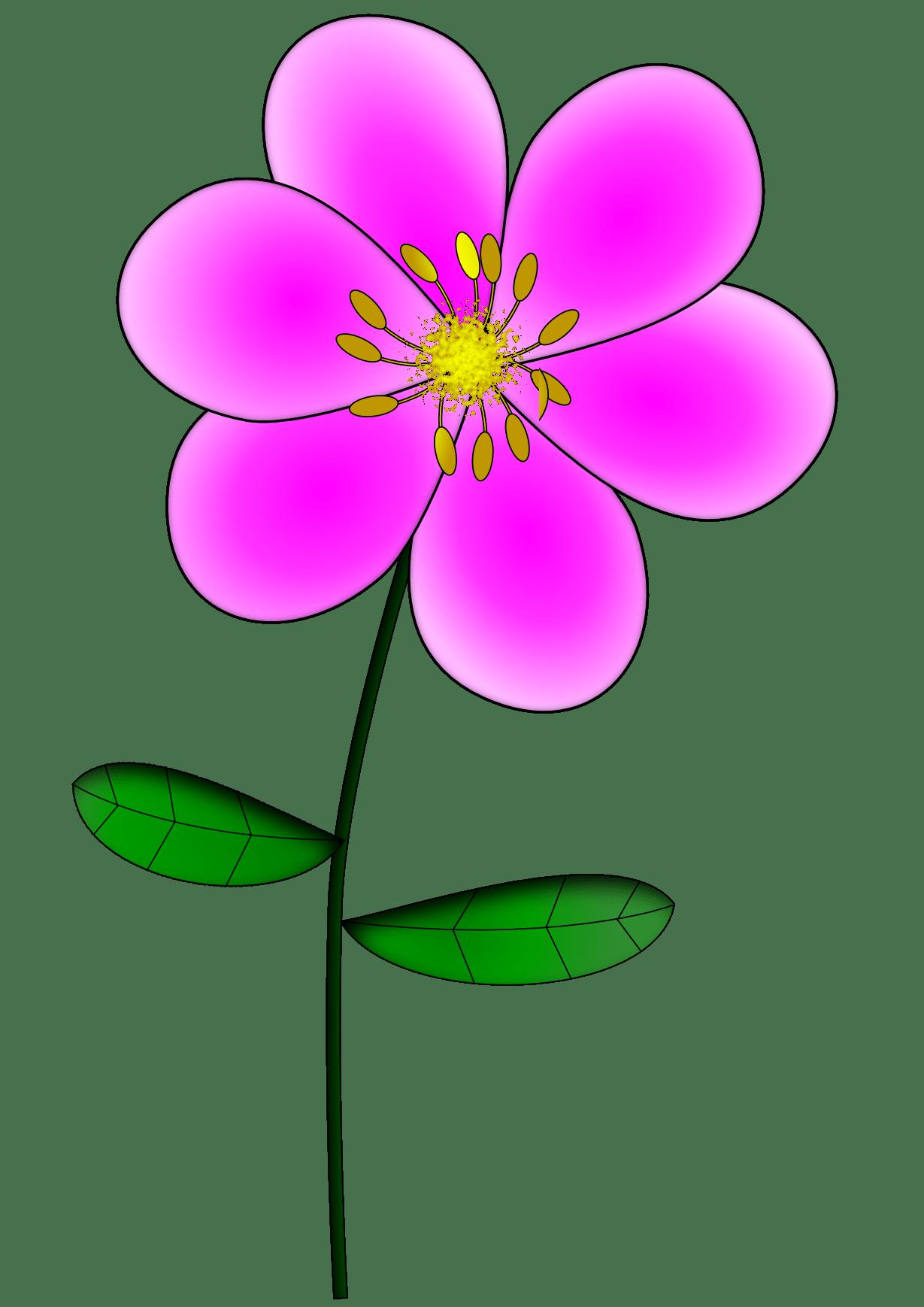 Light Pink Cartoon Flower - ClipArt Best (1229 x 1738 Pixel)