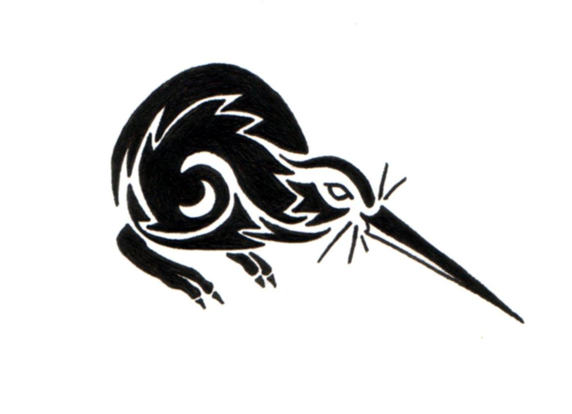 Kiwi Bird Tattoo