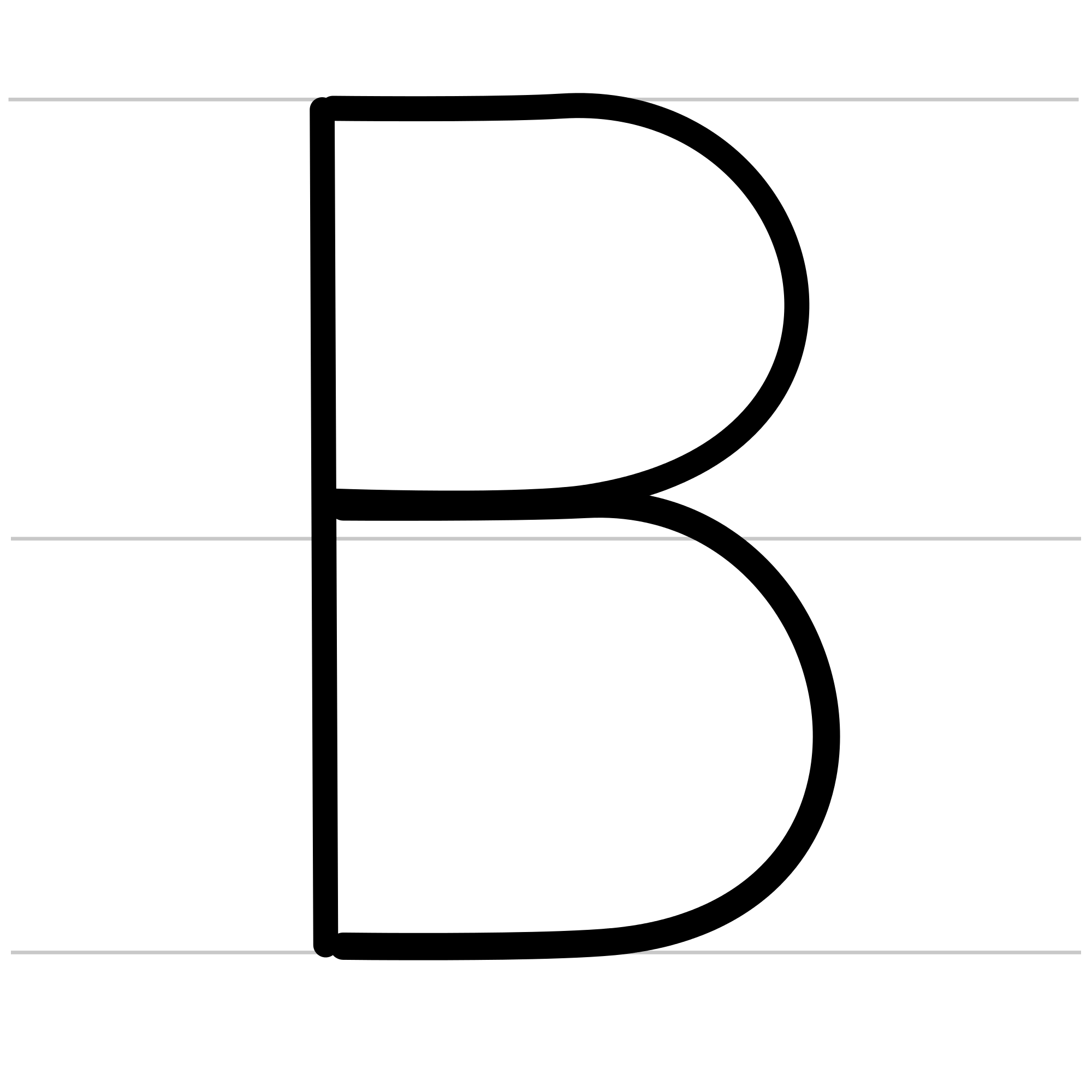 Animated Letter B