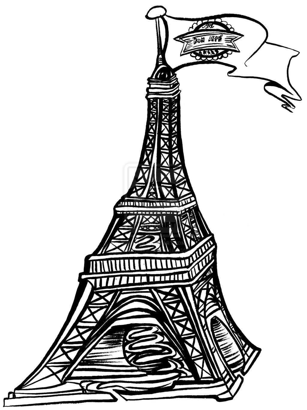 Eiffel Tower Concept No 2