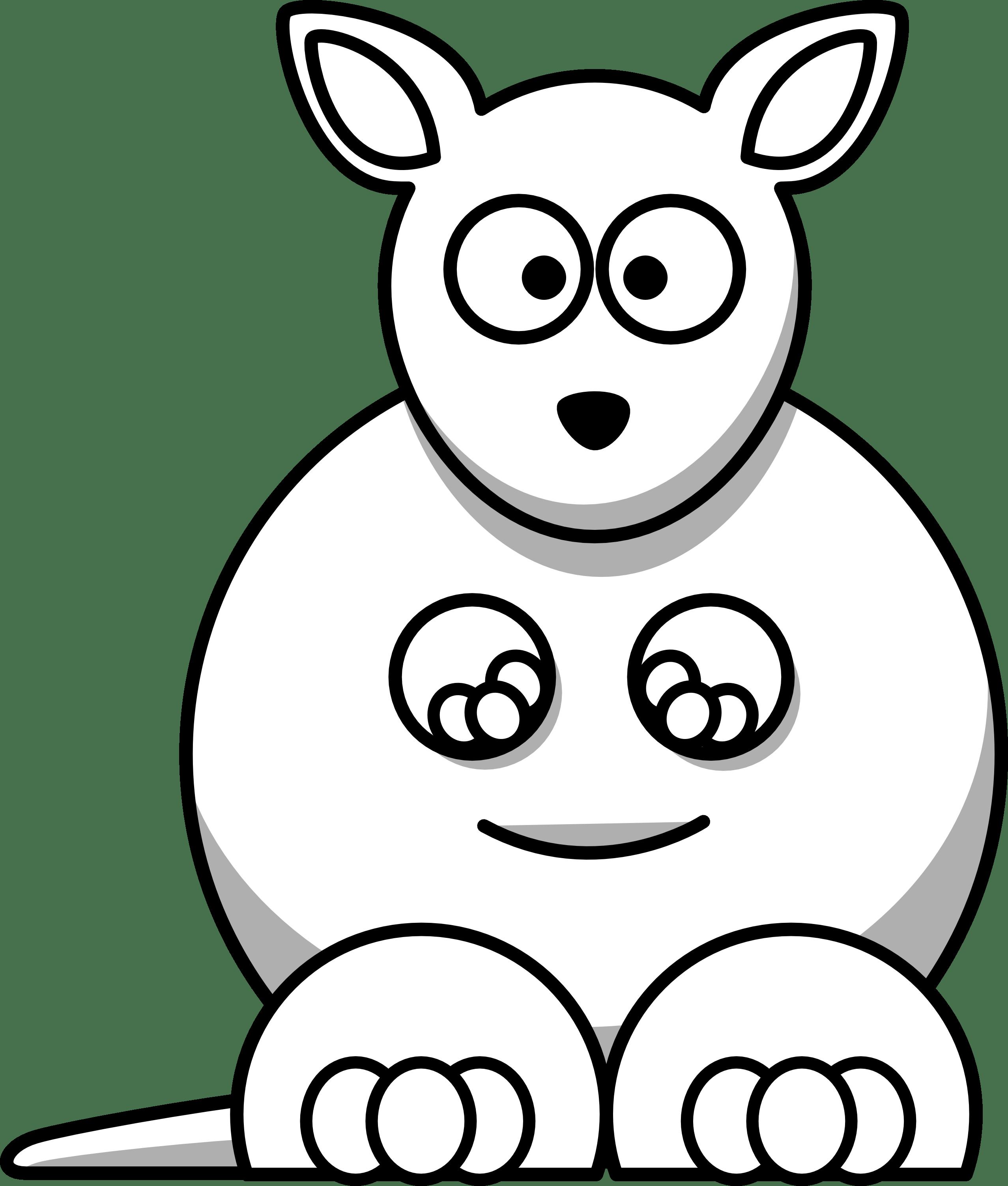 Black And White Clip Art Animals