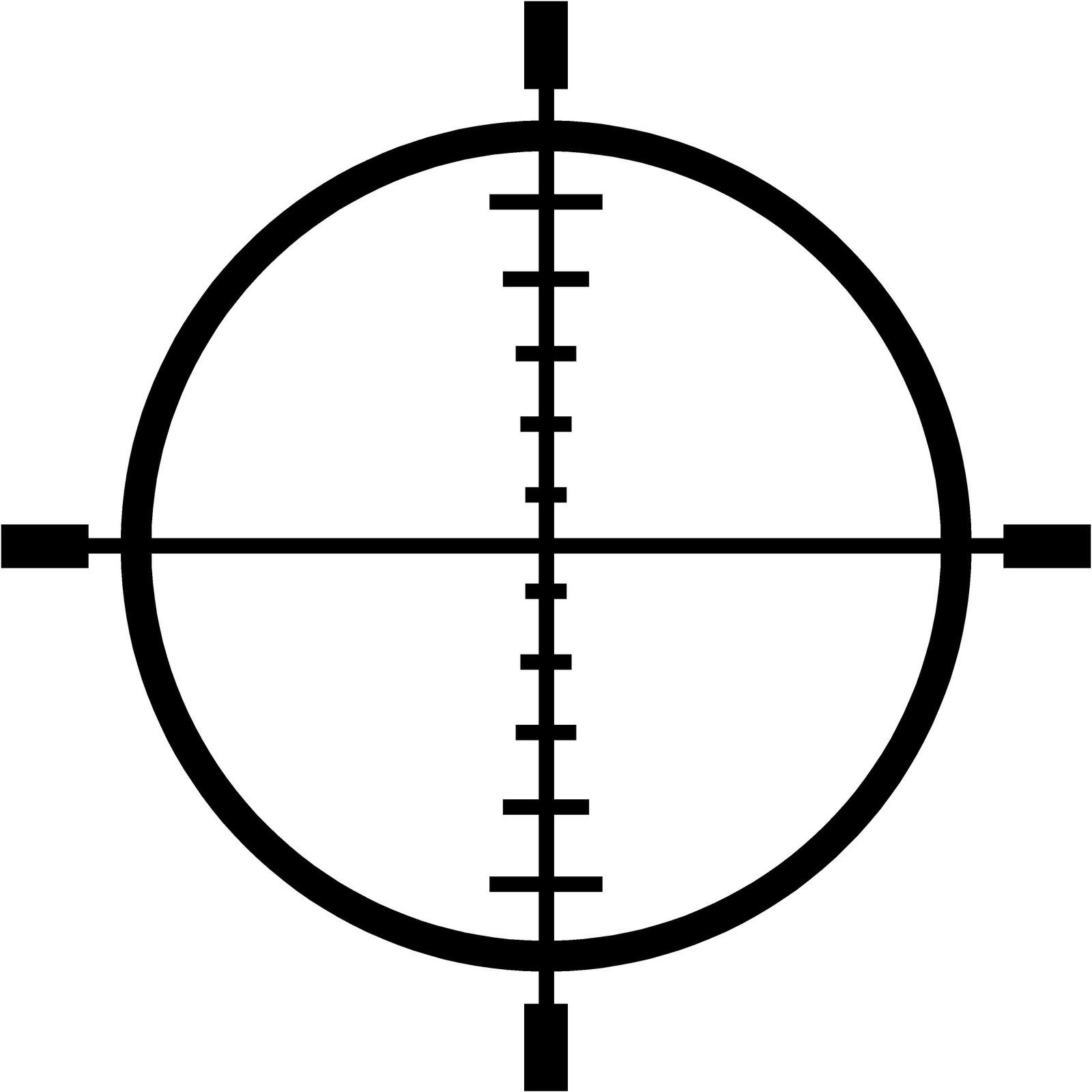 Rifle Scope Crosshairs