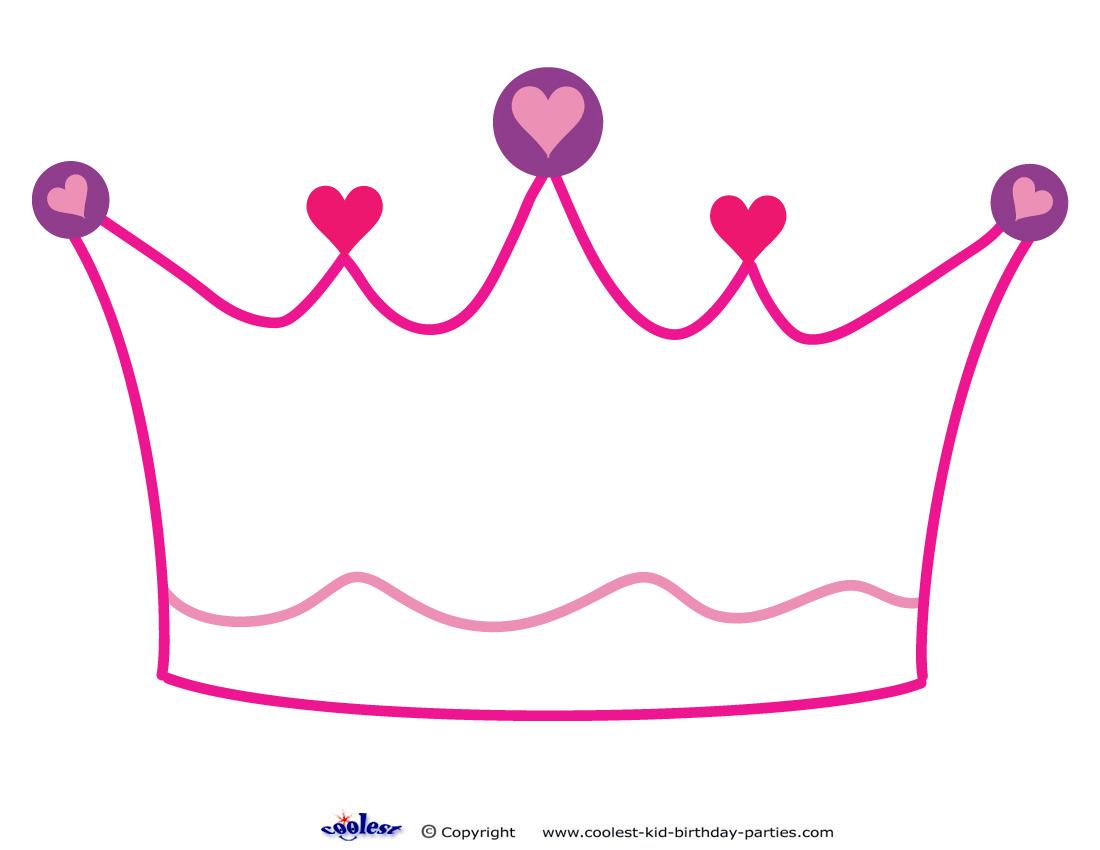 King Crown Template Printable
