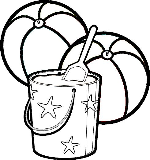 beachball colouring pages  clipart best